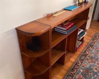 CONSOLE TABLE W/SHELVES