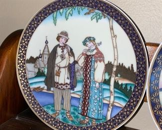 RUSSIAN FAIRY TALES COLLECTIBLE PLATES