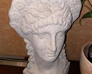 GREEK BUST SCULPTURE