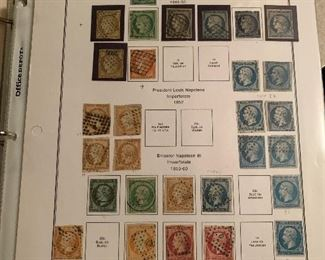 COLLECTIBLE FRENCH STAMPS  & FRENCH COLONIES STAMPS