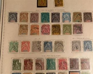 STAMPS OF FRANCE & FRENCH COLONIES