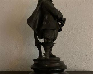 Spanish Explorer, Sculpture