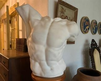 Laocoon Torso, of Laocoon and His Sons, One of the greatest works of ancient Greek sculptures, resides at the Vatican