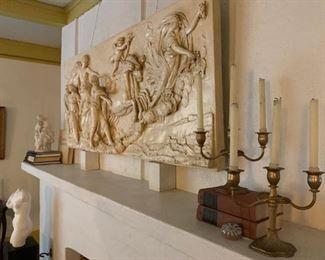 Plaster Cast After Guido Reni, Aurora