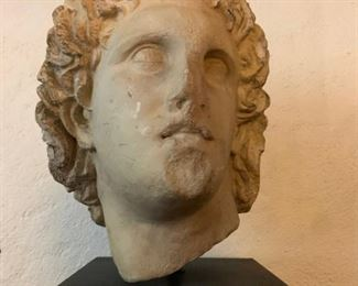 Head of Alexander the Great, After the Antique