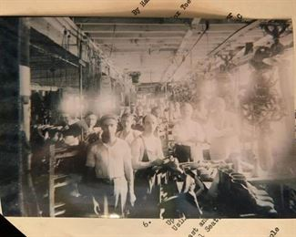 """Photographs from The United Shoe Manufacturing Corp Beverly, MA, Known Locally as """"The Shoe"""""""
