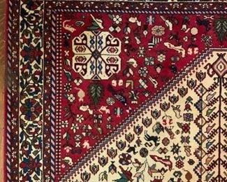 Persian, Animal Motif, Area Rug