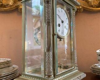 French Carriage Clock with Mercury Weight