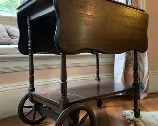 Mahogany Tea Cart from Paine Furniture