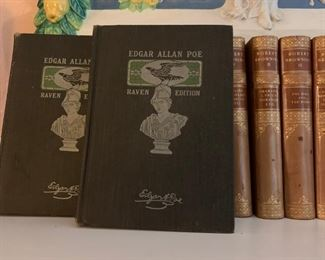Antique Books, Leather Bound Books