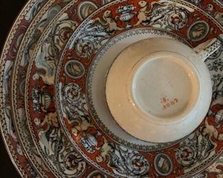 1862 Minton Florentine Bone China