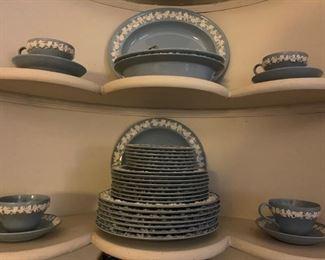 Wedgwood Blue Queensware