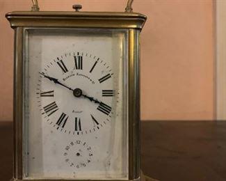 Bigelow Kennard Brass Carriage Clock