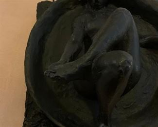 Bronze Museum Reproduction, The Tub, After Degas