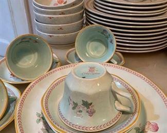 Calyxware, Franciscan Dinnerware