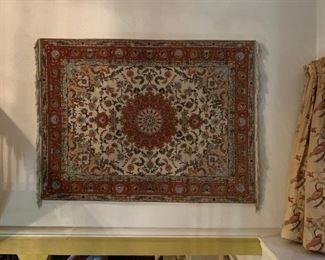 Persian Rug, Wall Mounted