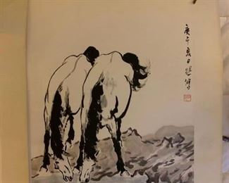 Chinese Ink Scrolls