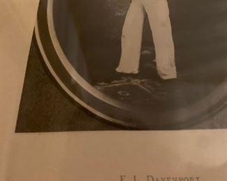 E. L. Davenport in Black Eyed Susan, Actor