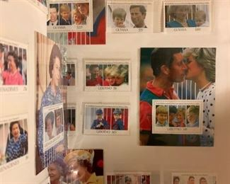 Royal Family Stamps