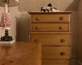 Arts and Crafts Maple Bedroom Set