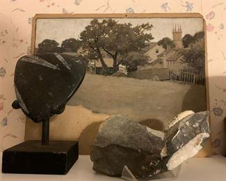 Merrill, Petrified Rocks
