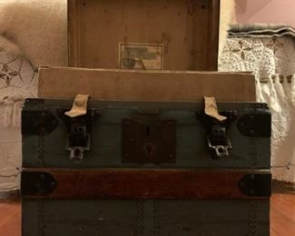 Antique Trunk from Nathan Neat and Co