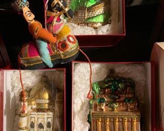 Worldly Ornaments, Great Wall of China, Taj Mahal
