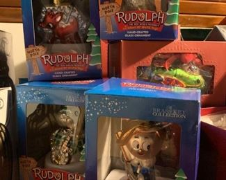 Rudolph the Red Nose Reindeer Ornaments