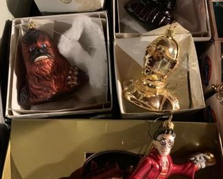 Radko Ornaments, Star Wars
