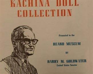 Goldwater Kachina Doll Collection, Signed by Goldwater