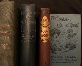 Antique Cookbooks