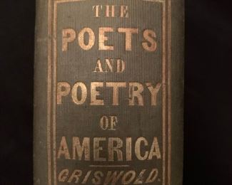 The Poets and Poetry of America, Griswold