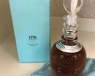 2nd bottle of Tiffany  1776 whiskey in a month!