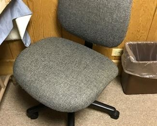 A few office chairs