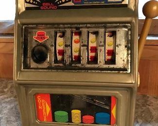 Kids metal slot machine