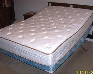 Adjustable bed - head slightly raised