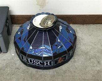 Vintage Busch hanging lamp