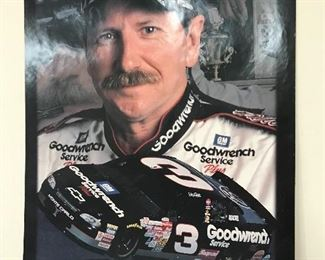 Lots of NASCAR posters