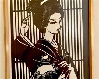 Japanese Block Print