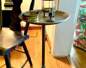 Bradley & Hubbard Smoking Stand with Accessories