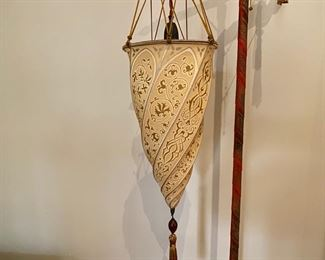 Detail of Fortuny lamp