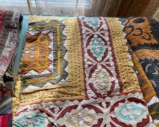 mirrored quilt