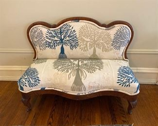 Early Victorian low settee