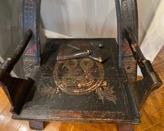 detail of Russian armchair