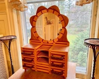miniature chest/ jewelry chest