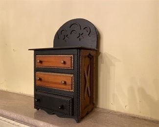 Tramp Art chest