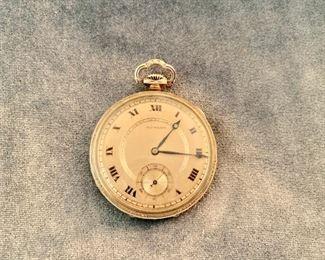 Gold-filled Howard pocket watch