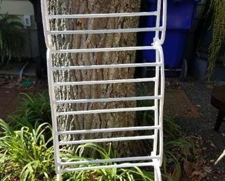Over-the-door shoe rack (a floor rack is also available)
