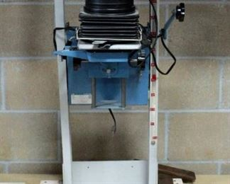 """Beseler Photo Enlarger Model 23C Series II With Stand, 36"""" Tall"""