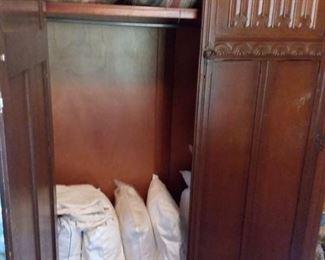Antique storage cabinet